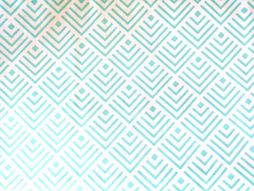 világos türkiz geometria