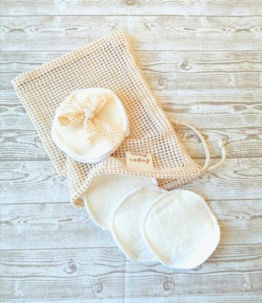 mosható arctisztító korongok natúr
